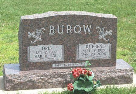 ANDERSON BUROW, IDRIS - Buena Vista County, Iowa | IDRIS ANDERSON BUROW