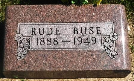 BUSE, RUDE - Buena Vista County, Iowa | RUDE BUSE