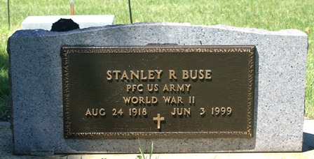 BUSE, STANLEY R. - Buena Vista County, Iowa   STANLEY R. BUSE