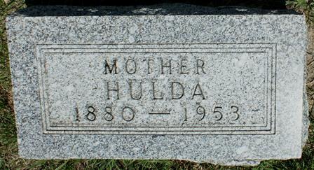 CARLSON, HULDA - Buena Vista County, Iowa | HULDA CARLSON