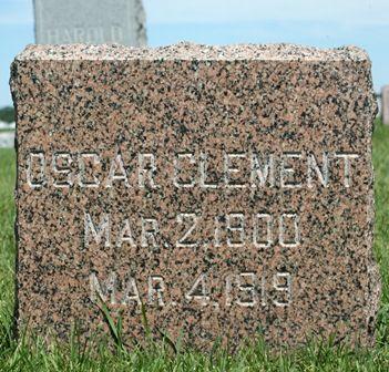 CLEMENT, OSCAR - Buena Vista County, Iowa | OSCAR CLEMENT