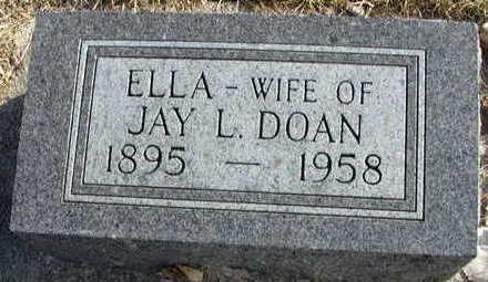 DOAN, ELLA - Buena Vista County, Iowa | ELLA DOAN