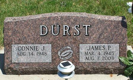 DURST, JAMES P. - Buena Vista County, Iowa | JAMES P. DURST