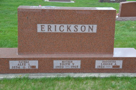 ERICKSON, ALFE  L. - Buena Vista County, Iowa | ALFE  L. ERICKSON