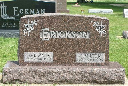 ERICKSON, EVELYN A. - Buena Vista County, Iowa | EVELYN A. ERICKSON