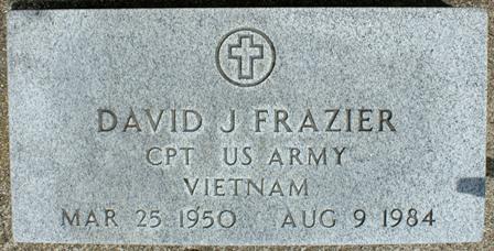 FRAZIER, DAVID J. - Buena Vista County, Iowa | DAVID J. FRAZIER
