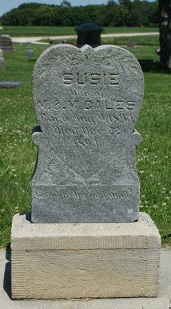 GALES, SUSIE - Buena Vista County, Iowa | SUSIE GALES