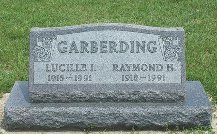 GARBERDING, LUCILLE I. - Buena Vista County, Iowa   LUCILLE I. GARBERDING
