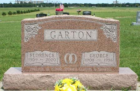 GARTON, FLORENCE - Buena Vista County, Iowa   FLORENCE GARTON
