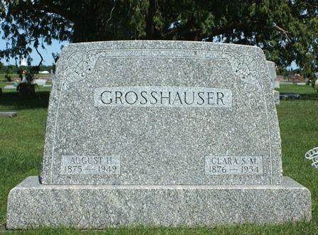 GROSSHAUSER, CLARA S. M. - Buena Vista County, Iowa | CLARA S. M. GROSSHAUSER