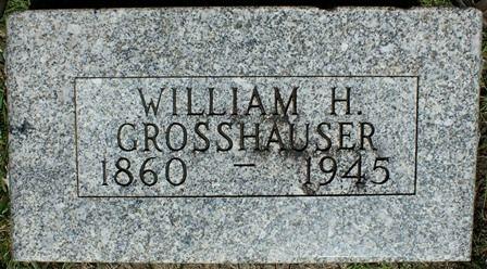 GROSSHAUSER, WILLIAM H. - Buena Vista County, Iowa   WILLIAM H. GROSSHAUSER