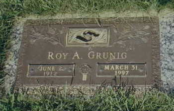 GRUNIG, ROY - Buena Vista County, Iowa | ROY GRUNIG