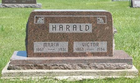 HARALD, MARIA - Buena Vista County, Iowa | MARIA HARALD