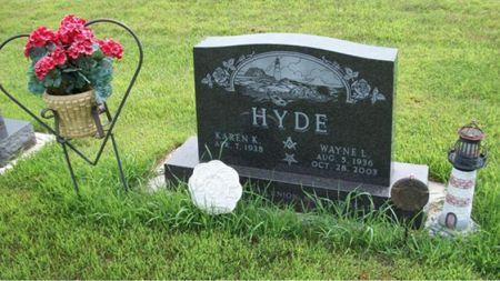 HYDE, WAYNE LAVERNE - Buena Vista County, Iowa | WAYNE LAVERNE HYDE