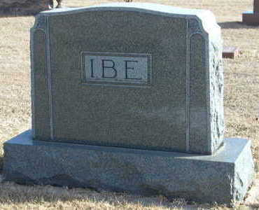 IBE, FAMILY STONE - Buena Vista County, Iowa | FAMILY STONE IBE