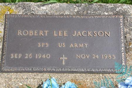 JACKSON, ROBERT  LEE - Buena Vista County, Iowa | ROBERT  LEE JACKSON