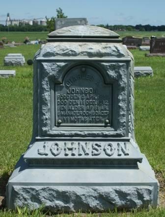 JOHNSON, CHARLES A. - Buena Vista County, Iowa   CHARLES A. JOHNSON