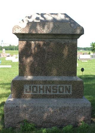 JOHNSON, FAMILY MONUMENT - Buena Vista County, Iowa | FAMILY MONUMENT JOHNSON