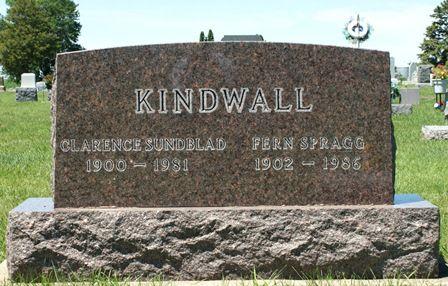 KINDWALL, CLARENCE SUNBLAD - Buena Vista County, Iowa | CLARENCE SUNBLAD KINDWALL