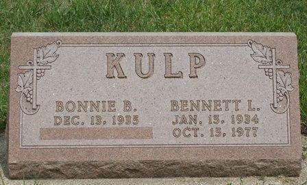 KULP, BENNETT L. - Buena Vista County, Iowa | BENNETT L. KULP