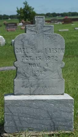 LARSON, CARL R. - Buena Vista County, Iowa   CARL R. LARSON