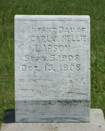 LARSON, INFANT DAUGHTER - Buena Vista County, Iowa | INFANT DAUGHTER LARSON