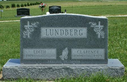 LUNDBERG, CLARENCE - Buena Vista County, Iowa   CLARENCE LUNDBERG