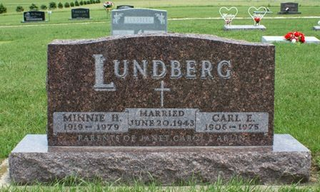 LUNDBERG, MINNIE H. - Buena Vista County, Iowa | MINNIE H. LUNDBERG