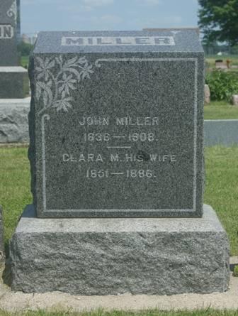 MILLER, JOHN - Buena Vista County, Iowa   JOHN MILLER