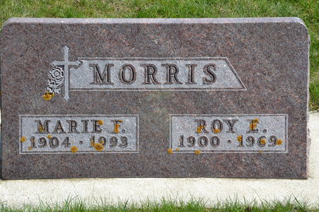 MORRIS, MARIE  F. - Buena Vista County, Iowa   MARIE  F. MORRIS