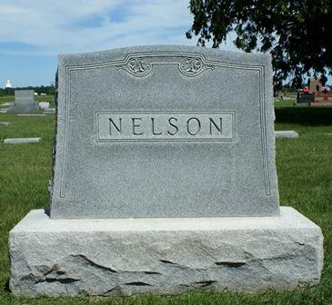 NELSON, FAMILY MONUMENT - Buena Vista County, Iowa | FAMILY MONUMENT NELSON