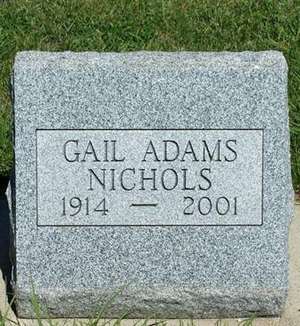 ADAMS NICHOLS, GAIL - Buena Vista County, Iowa | GAIL ADAMS NICHOLS