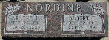NORDINE, ALBERT E. - Buena Vista County, Iowa | ALBERT E. NORDINE
