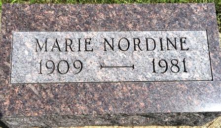 NORDINE, MARIE - Buena Vista County, Iowa | MARIE NORDINE