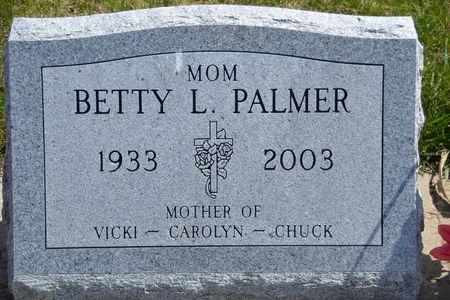 PALMER, BETTY  L. - Buena Vista County, Iowa   BETTY  L. PALMER