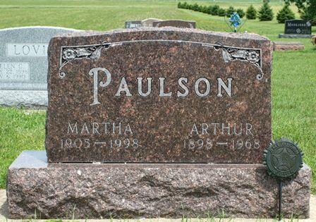 PAULSON, MARTHA - Buena Vista County, Iowa | MARTHA PAULSON