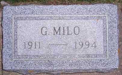 PEDERSEN, GEORGE MILO - Buena Vista County, Iowa | GEORGE MILO PEDERSEN