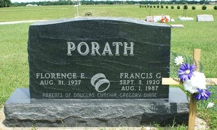 PORATH, FRANCIS G. - Buena Vista County, Iowa   FRANCIS G. PORATH