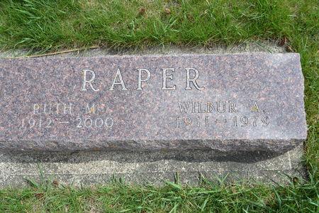 RAPER, RUTH  M. - Buena Vista County, Iowa | RUTH  M. RAPER