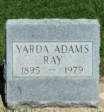 RAY, YARDA LOVGREN ADAMS - Buena Vista County, Iowa | YARDA LOVGREN ADAMS RAY
