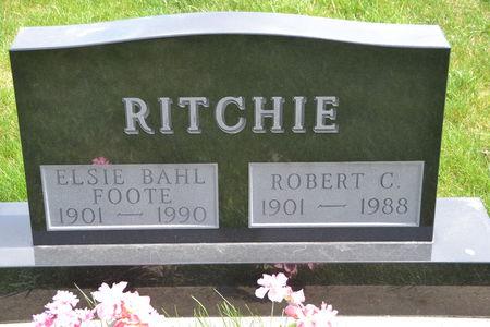FOOTE-RITCHIE, ELSIE - Buena Vista County, Iowa | ELSIE FOOTE-RITCHIE