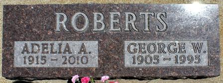 ROBERTS, GEORGE W. - Buena Vista County, Iowa | GEORGE W. ROBERTS