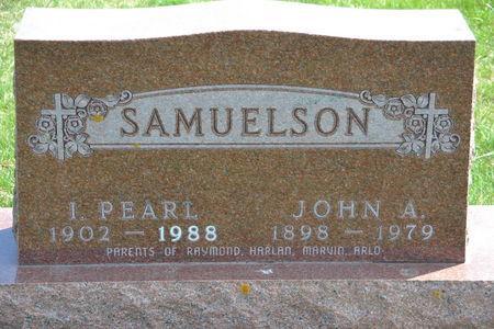 SAMUELSON, JOHN  A. - Buena Vista County, Iowa | JOHN  A. SAMUELSON