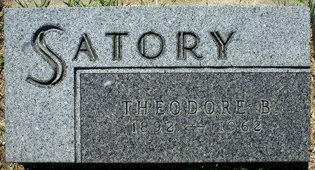 SATORY, THEODORE B. - Buena Vista County, Iowa | THEODORE B. SATORY