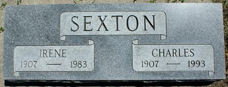 SEXTON, IRENE - Buena Vista County, Iowa | IRENE SEXTON