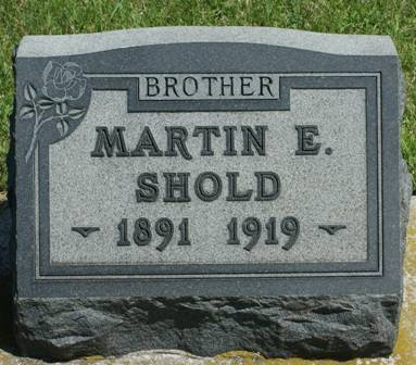 SHOLD, MARTIN E. - Buena Vista County, Iowa | MARTIN E. SHOLD