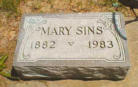 SPINDLER SINS, MARY MATILDA - Buena Vista County, Iowa   MARY MATILDA SPINDLER SINS