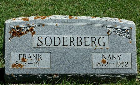 NORDQUIST SODERBERG, NANY - Buena Vista County, Iowa   NANY NORDQUIST SODERBERG