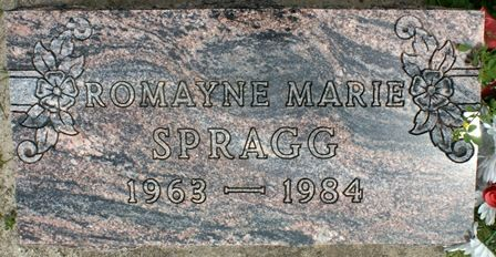 SPRAGG, ROMAYNE MARIE - Buena Vista County, Iowa | ROMAYNE MARIE SPRAGG