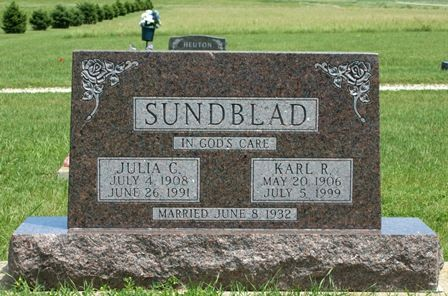 SUNDBLAD, JULIA C. - Buena Vista County, Iowa | JULIA C. SUNDBLAD
